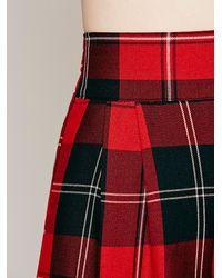 Otis & Maclain Red Menswear Florence Wideleg