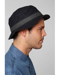 Urban Outfitters Blue Wool Bucket Hat for men
