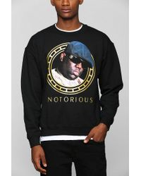 Urban Outfitters | Black Biggie Americana Pullover Sweatshirt for Men | Lyst