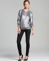 C&C California Sweatshirt Foiled French Terry Metallic
