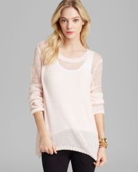 Guess White Sweater Sweetheart