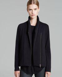 Helmut Lang Black Helmut By Jacket Villous Jersey Lined