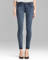 J Brand Blue Jeans Photo Ready 811 Mid Rise Skinny in Mystic
