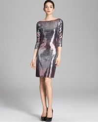 Karen Kane Metallic Versailles Sequin Dress