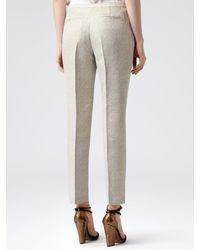 Reiss Bailey Metallic Finish Trousers