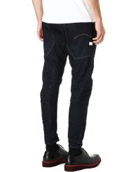 G-Star RAW Blue Sergio Pizzorno Limited Edition Type C Loosefit Tapered Jeans for men