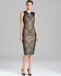 Raoul Black Bruna Paneled Dress