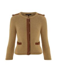 Weekend by Maxmara | Brown Masque Cardigan | Lyst