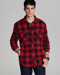 Alternative Apparel Black Timbers Buffalo Check Sport Shirt Classic Fit for men