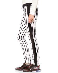 Club Monaco Black Madilyn Skinny Tuxedo Pants
