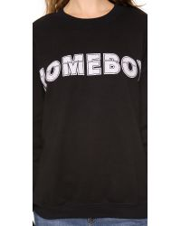 StyleStalker Black Homeboy Sweatshirt