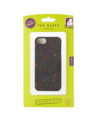 Ted Baker Purple Iphone Case