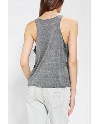 Urban Outfitters | Gray My Heart Is in Brooklyn Tank Top | Lyst