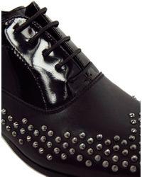 ALDO Black Lagunas Studded Shoes for men