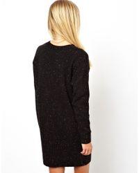 ASOS Black Mon Cheri Sweater Dress
