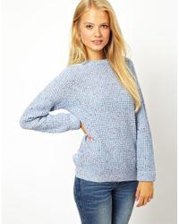 ASOS Blue Chunky Sweater