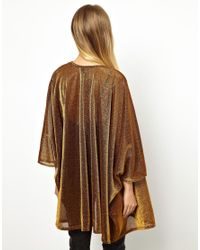 ASOS Kimono in Metallic