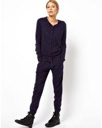 ASOS Blue Knitted Onesie