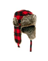 ASOS Red Trapper in Buffalo Check for men