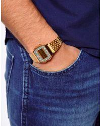 G-Shock Metallic Digital Bracelet Watch A159wgea4aef for men