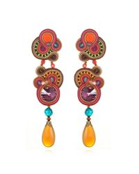 Dori Csengeri   Multicolor Large Phoenix Earrings   Lyst