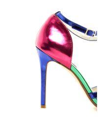Dune Multicolor Havian Multi Color Heeled Sandals
