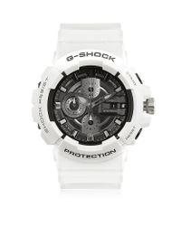 G-Shock White Garish Chronograph Watch for men