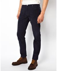 Native Youth | Blue Cord Trousers for Men | Lyst