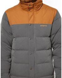 Patagonia Gray Bivy Down Jacket for men
