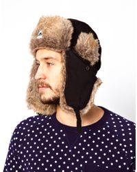 Penfield Brown Providence Trapper Hat for men