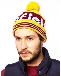 Eastpak - Yellow Penfield Sanford Bobble Hat for Men - Lyst