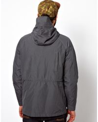 The North Face Gray Penfield Kasson Parka for men