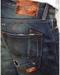 PRPS Blue Prps Jeans Straight Fit Barracuda for men