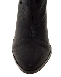 Senso Lisa I Black Strap Heeled Ankle Boots