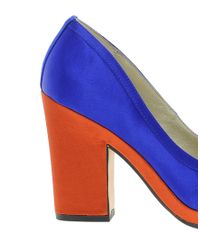 Seychelles Orange Montreal Heeled Shoe
