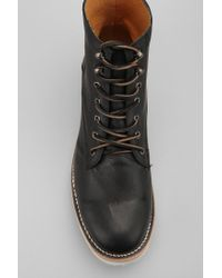 Urban Outfitters Black Unmarked Working Senor Boot for men