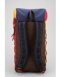 Urban Outfitters Blue Spurling Lakes Hiking Backpack for men