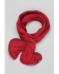 Urban Outfitters Red Patagonia Better Sweater Scarf for men