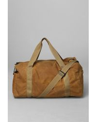 Urban Outfitters Brown Filson Tin Cloth Duffle Bag for men