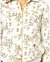 Vivienne Westwood Anglomania Multicolor Vivienne Westwood Anglomania For Lee Jacket in Floral