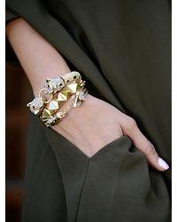 BaubleBar | Metallic Khaleesi Bracelet | Lyst