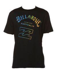 Billabong | Black Iconic T-shirt for Men | Lyst