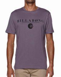 Billabong - Purple Striker T-shirt for Men - Lyst