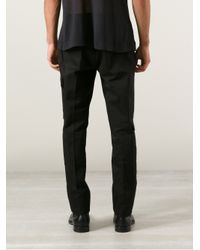Calvin Klein Black Calvin Klein Collection Cargo Trouser for men