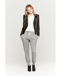 Current/Elliott - Gray The Vintage Sweatpant - Lyst