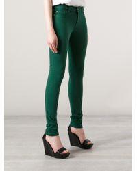 DL1961 Green Dl Amanda Skinny Jeans