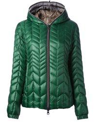 Duvetica Green Pallade Jacket