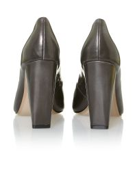 French Connection Gray Jolynn Court Shoes
