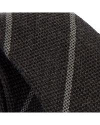 John Lewis Gray Matte Stripe Tie for men