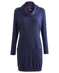 Joules Blue Elham Knitted Dress